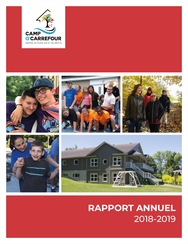 Rapport annuel Camp O'Carrefour 2018-2019