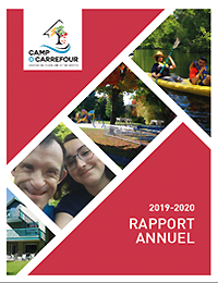 Rapport annuel 2019-2020 Camp O'Carrefour